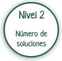 Nivel 2: número de soluciones